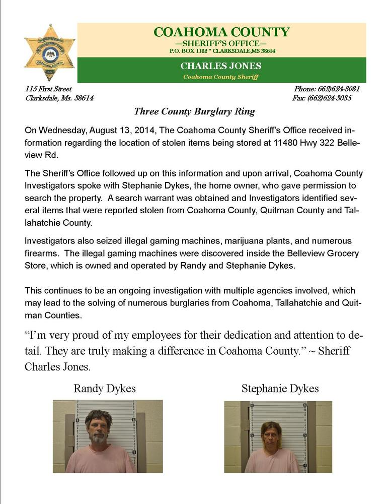 Bellview Search Warrant 08-15-14