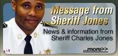 Message from Sheriff Jones